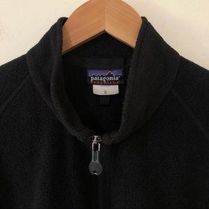 Patagonia Full Zip Synchilla Black Fleece Jacket